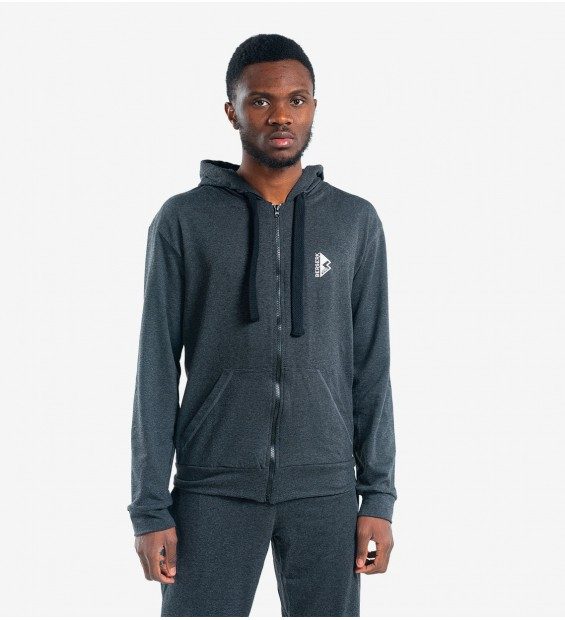 Hoodie BERSERK PRAGMATIC dark grey (without fleece)