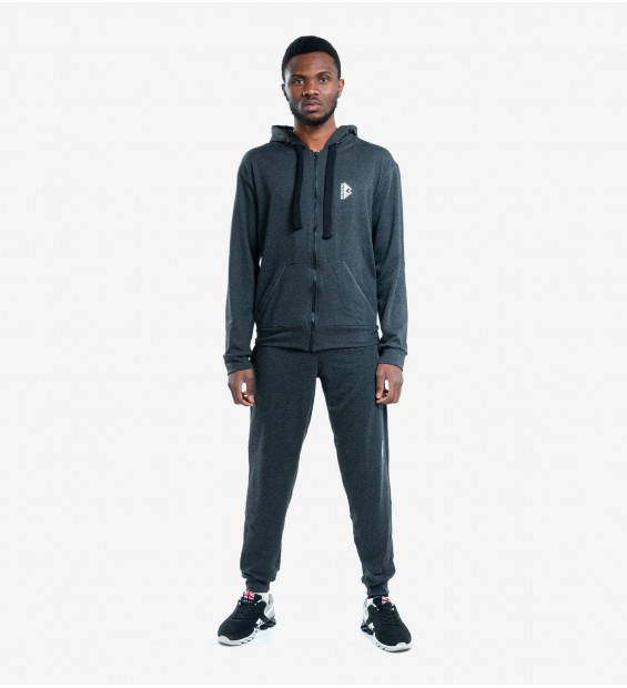 Hoodie Berserk Pragmatic dark grey (fleece)