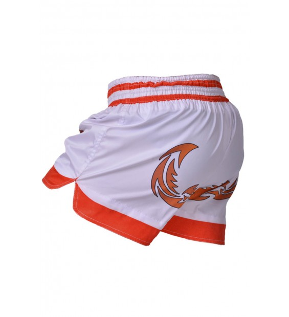 Shorts Berserk Muay Thai Fighter white