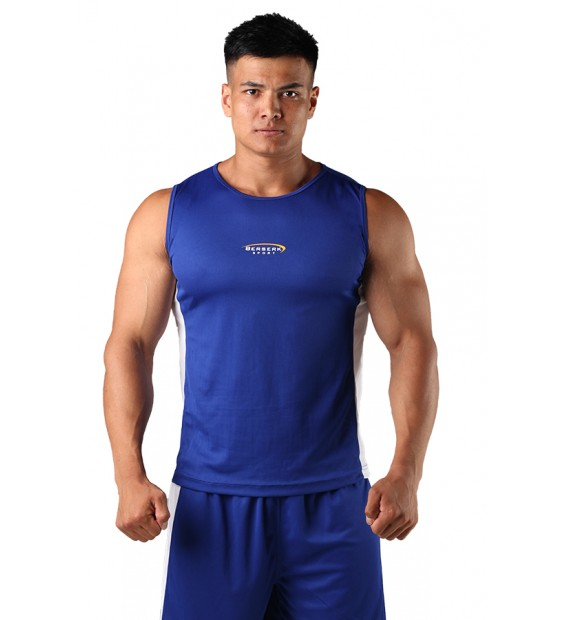 T-shirt Boxing Berserk blue