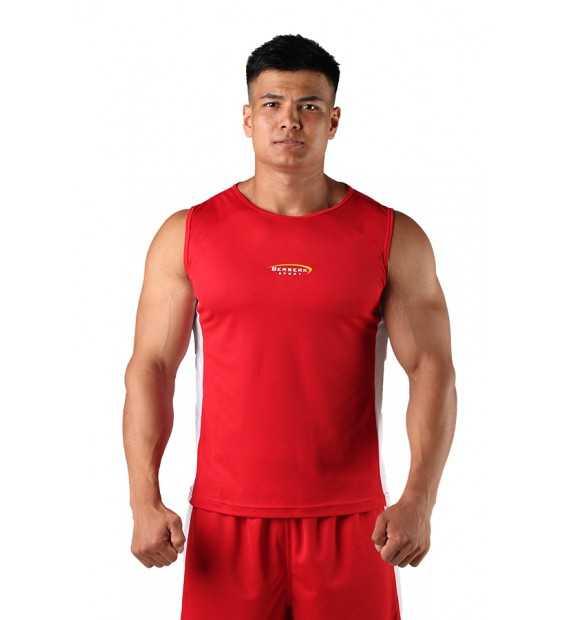 T-shirt Boxing Berserk red