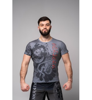 T-shirt Berserk Samuray black