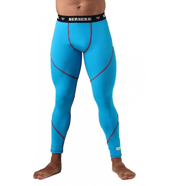 Compression Pants BERSERK DYNAMIC light blue