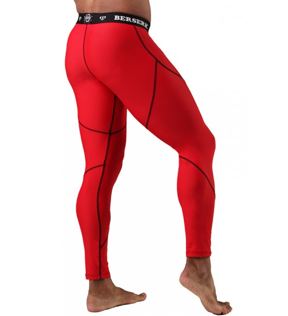 Compression Pants BERSERK DYNAMIC red