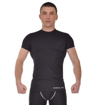 Compression T-shirt BERSERK MARTIAL FIT black