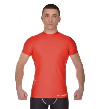 Compression T-shirt BERSERK MARTIAL FIT red