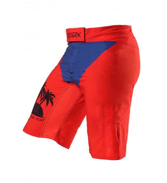 Fight shorts BERSERK Activ Relax red