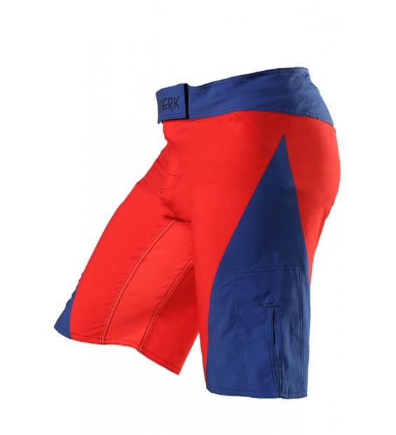 Fight shorts BERSERK Relax Speed red