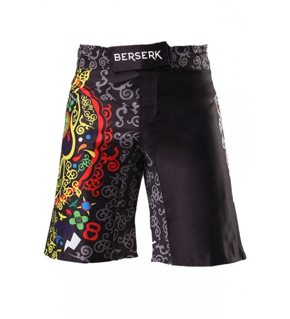 Fight shorts BERSERK Cross Skull black