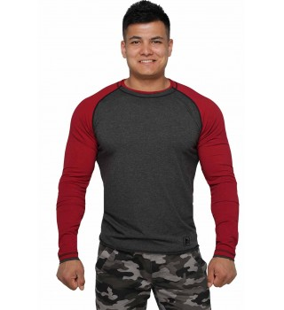 Long Sleeve BERSERK dark grey/bord