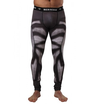 Compression Pants BERSERK IRON MAN black