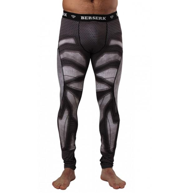 Compression Pants BERSERK IRON MAN black