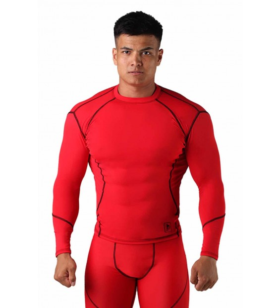 Compression T-shirt BERSERK DYNAMIC red