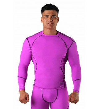 Compression T-shirt BERSERK DYNAMIC violet