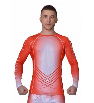 Rashguard MMA BERSERK Pro Fight red