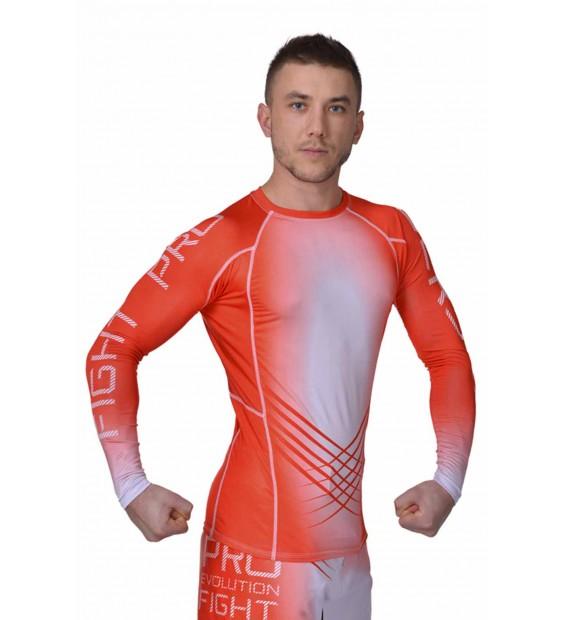 Rashguard MMA BERSERK Pro Fight red
