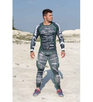 Rashguard BERSERK WOOD black