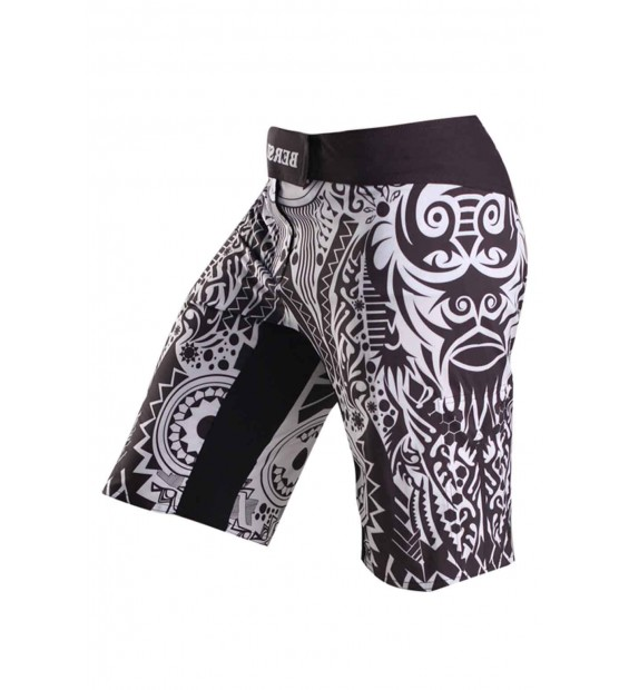 Fight shorts BERSERK AFRICAN MASK black