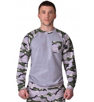 Sweatshirt  Berserk Urban camo/grey
