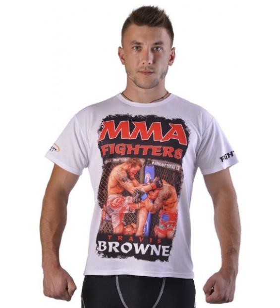 T-shirt Berserk Travis Browne white
