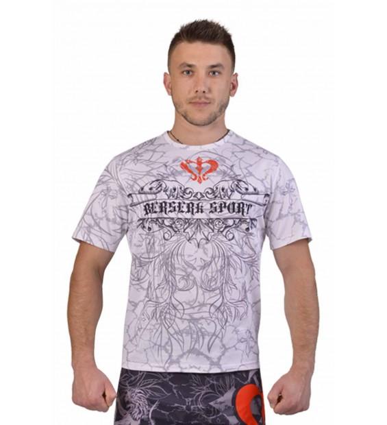 T-shirt WARRIOR SPIRIT white