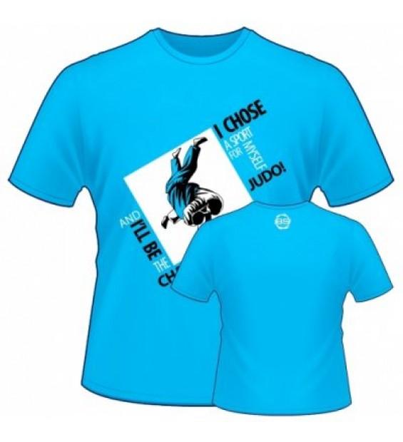 T-Shirt Berserk Judo  turquoise