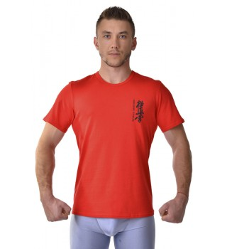 T-shirt Berserk Kyokushin red