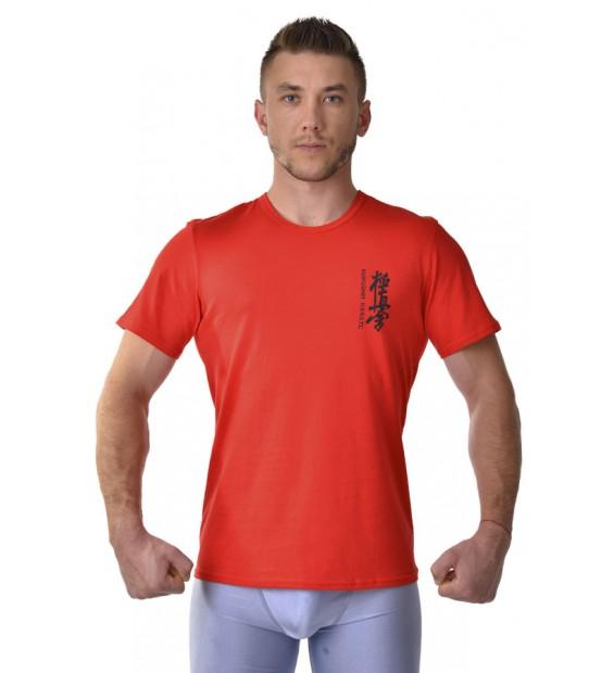 T-shirt Berserk Kyokushin red