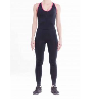 Jumpsuit BERSERK FIT ANGEL black/pink