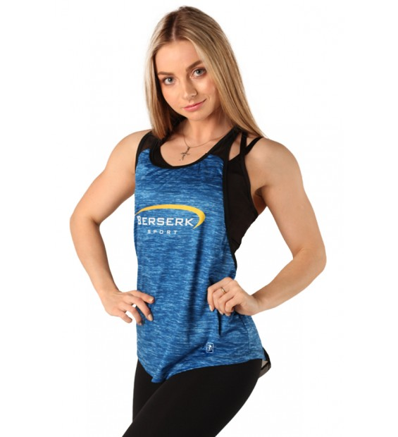 Tank Top BERSERK SWING FIT blue
