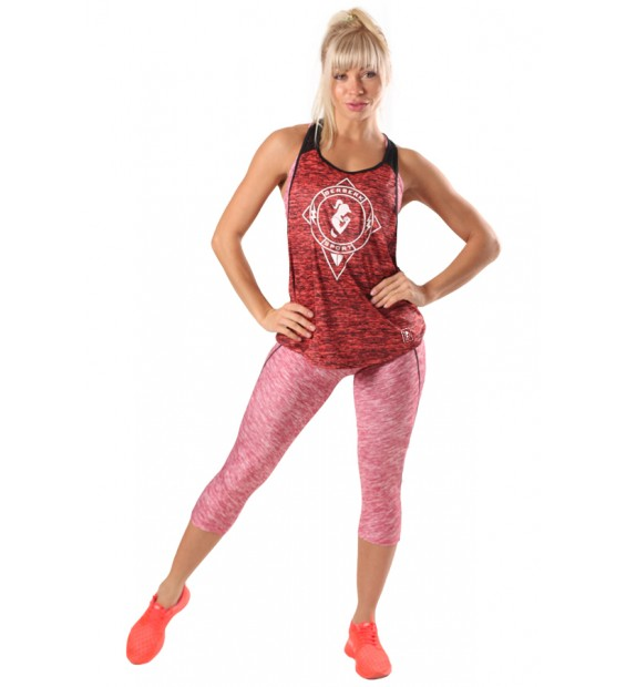 Tank Top BERSERK SWING FIT red