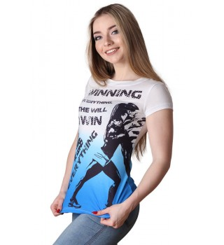 T-Shirt Berserk Tire Flips blue