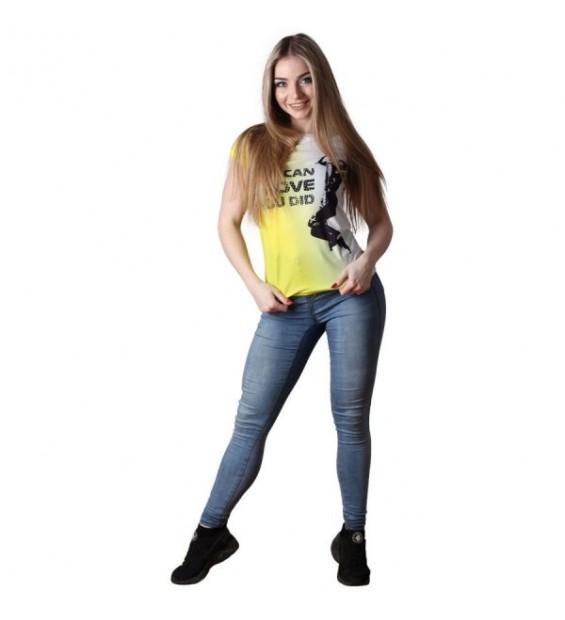 T-Shirt Berserk Rope Climb yellow