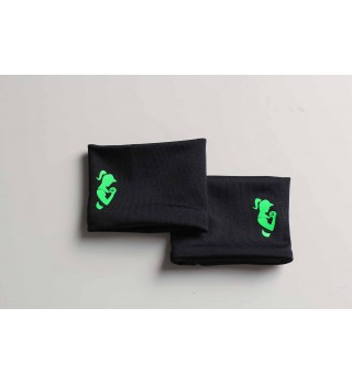 Berserk Active Black / Green Wristband