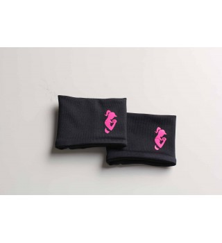 Berserk Active Black / Pink Wristband