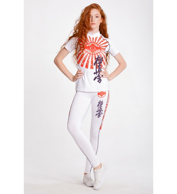 CompressionT-shirt BERSERK Kyokushin white