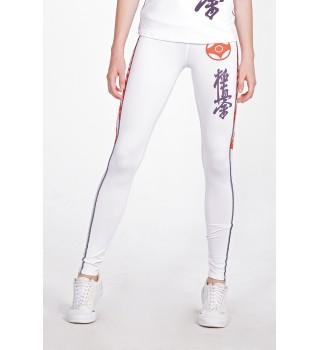 Leggings BERSERK Kyokushin white