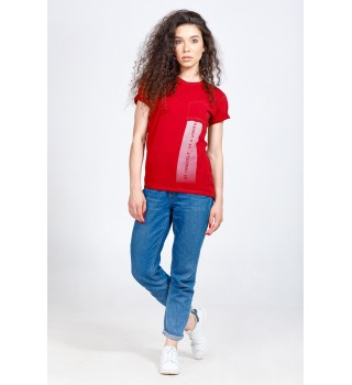 T-shirt BERSERK IN MOTION bordo