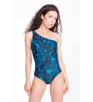 Swimsuit Berserk Tropical Marvel emerald