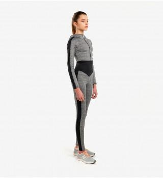 Jumpsuit BERSERK MELANGE grey