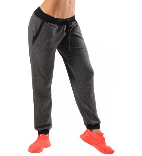 WOMENS ATHLETIC PANTS BERSERK dark grey