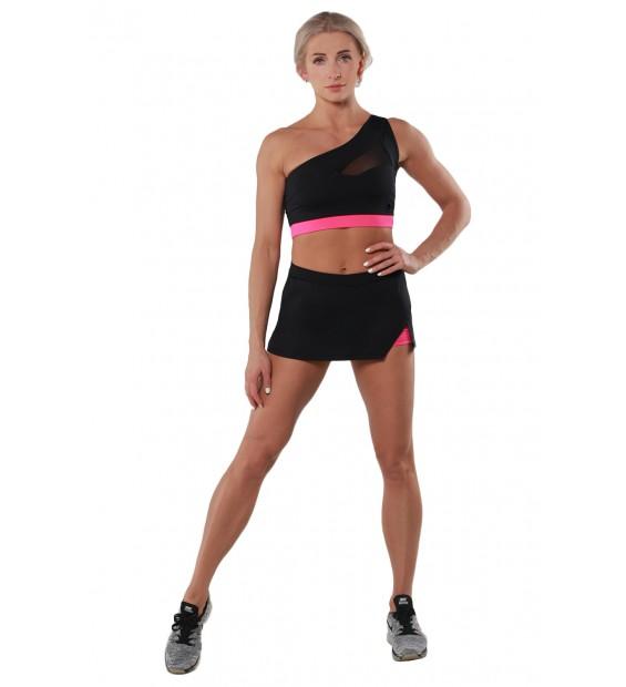 Skirt BERSERK AMAZON black/pink