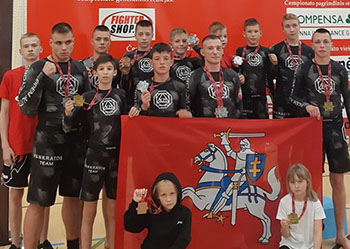 Pankratos team is one of the most famous and strongest teams in Lithuania!